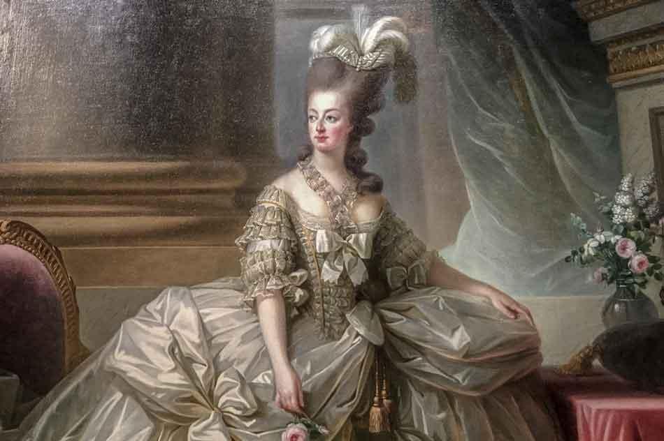 marie antoinette, originator of maine coons