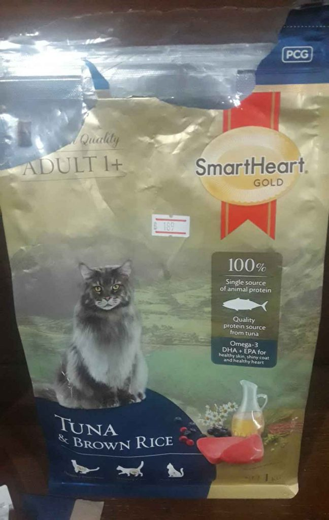 brown rice and tuna diet for Maine Coon